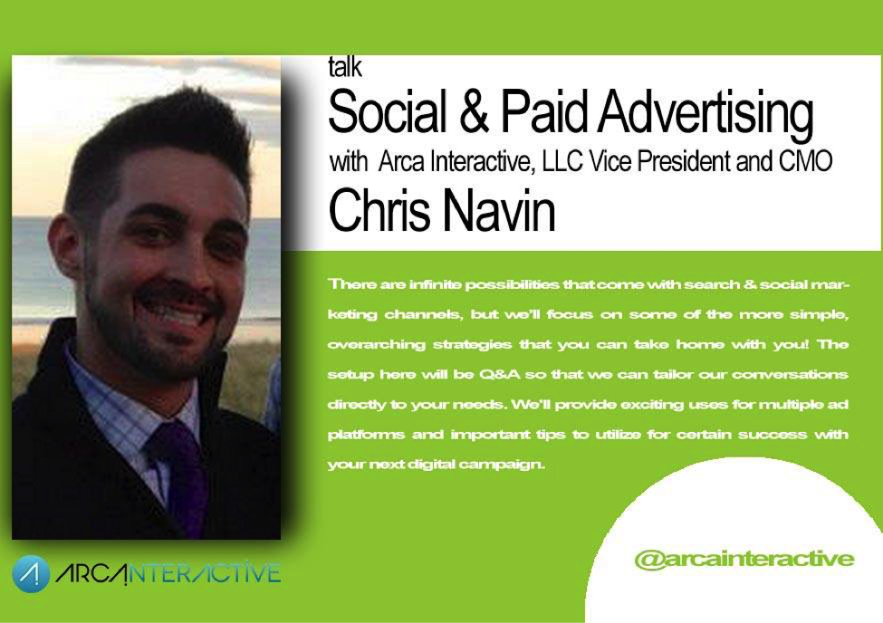 Chris Navin - CMO of Arca Interactive