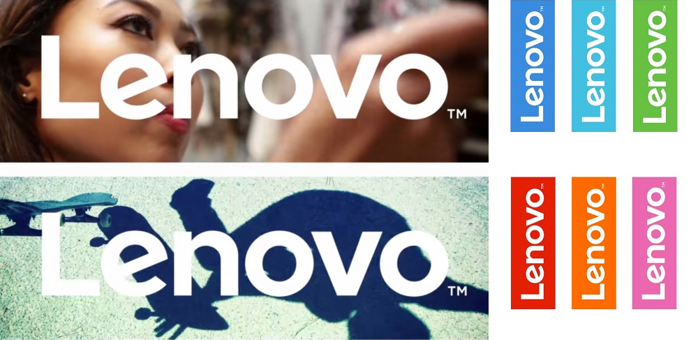 But Lenovo recently challenged the status quo, releasing a new streamlined, customizable logo.